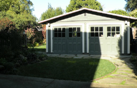 AFTER: The unused driveway space converted to a cool and inviting play area.